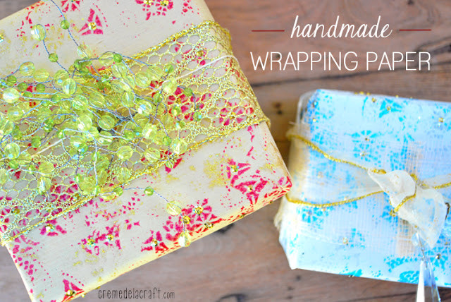 Best ideas about DIY Christmas Wrapping Paper . Save or Pin DIY Holiday Wrapping Paper From Paper Doilies Now.