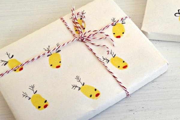 Best ideas about DIY Christmas Wrapping Paper . Save or Pin 10 Easy DIY Christmas Wrapping Paper Ideas Now.