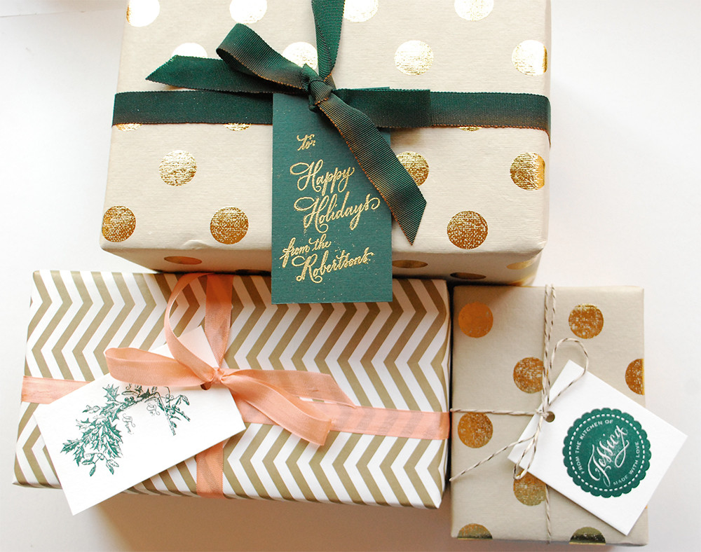 Best ideas about DIY Christmas Wrapping Paper . Save or Pin DIY Tutorial Festive Wrapping with Holiday Gift Tags Now.