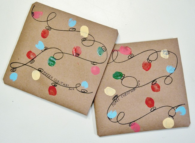 Best ideas about DIY Christmas Wrapping Paper . Save or Pin 25 Simple & Creative DIY Gift Wrap Ideas Day 13 of 31 Now.