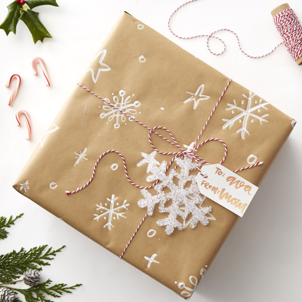 Best ideas about DIY Christmas Wrapping Paper . Save or Pin DIY Christmas Calligraphy Wrapping Paper – cable car couture Now.
