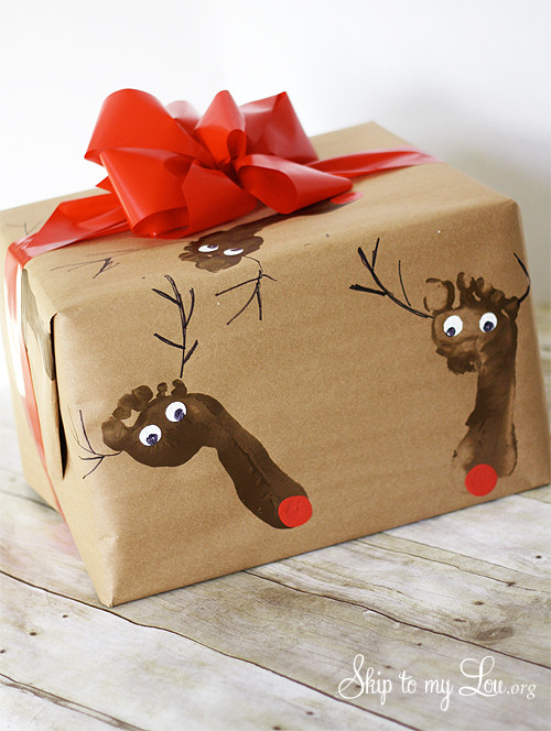 Best ideas about DIY Christmas Wrapping Paper . Save or Pin DIY Christmas Wrapping Paper Now.