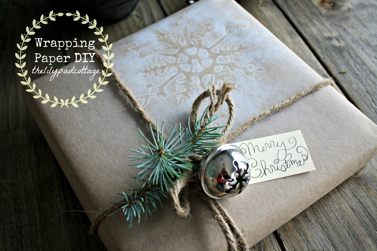 Best ideas about DIY Christmas Wrapping Paper . Save or Pin Homemade Wrapping Paper The Lilypad Cottage Now.