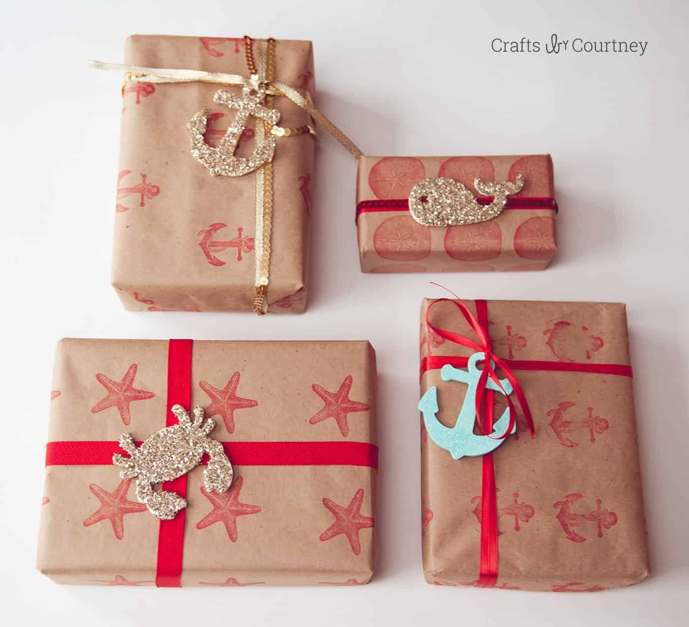 Best ideas about DIY Christmas Wrapping Paper . Save or Pin Nautical inspired DIY wrapping paper Mod Podge Rocks Now.