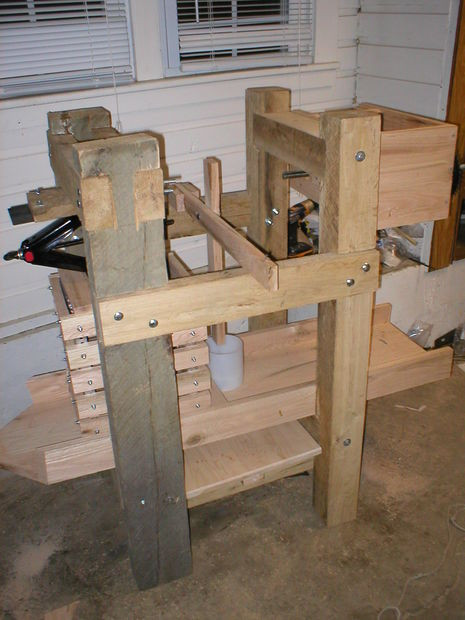 Best ideas about DIY Cider Press . Save or Pin Homemade cheese and cider press Now.