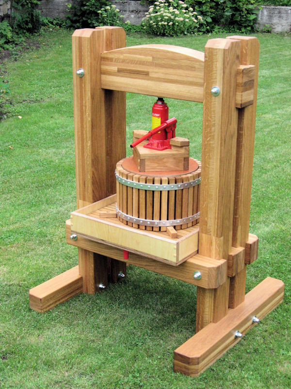 Best ideas about DIY Cider Press . Save or Pin Homemade cider press powered by hydraulic jack Now.