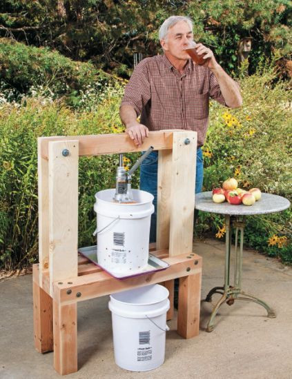 Best ideas about DIY Cider Press . Save or Pin 18 Easy to Follow DIY Cider Press Plans To Make Your Own Now.