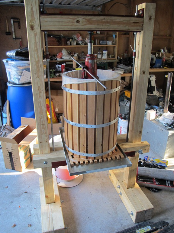 Best ideas about DIY Cider Press . Save or Pin Building a cider press Now.