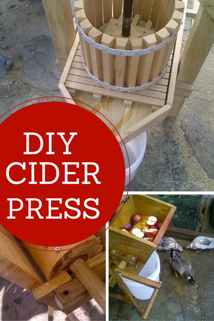 Best ideas about DIY Cider Press . Save or Pin Genius DIY Apple Cider Press Now.