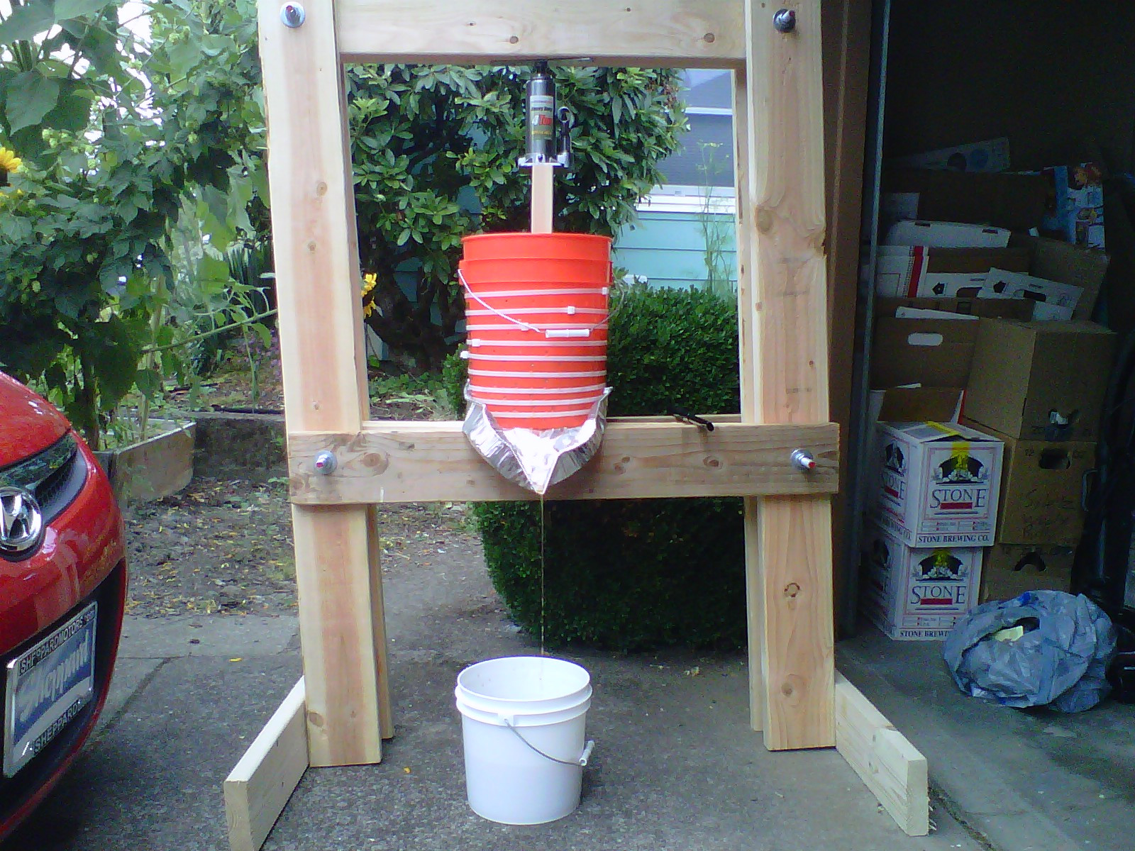 Best ideas about DIY Cider Press . Save or Pin Build An Apple Cider Press Basket For Under $20 Now.