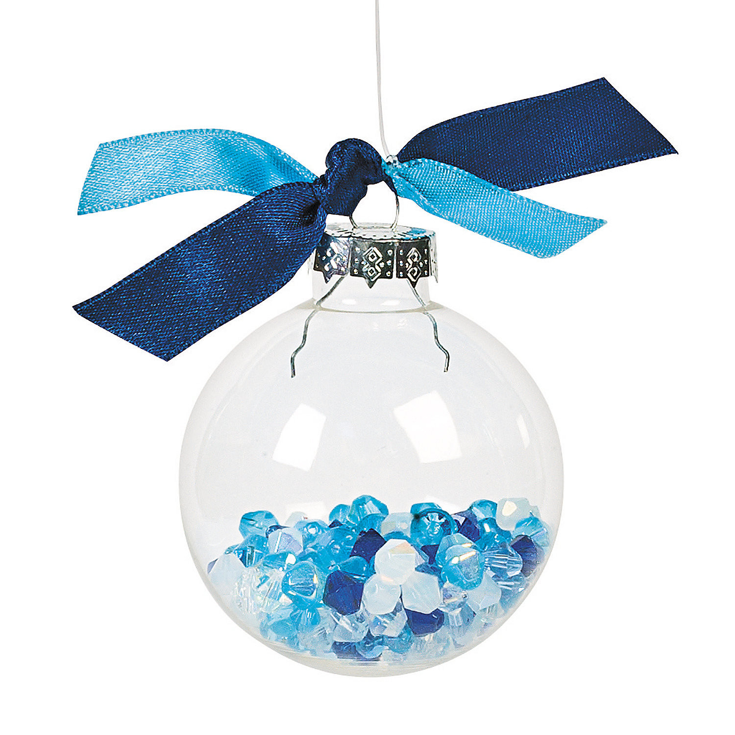 Best ideas about DIY Clear Christmas Ornaments . Save or Pin DIY Clear Round Christmas Ornaments Oriental Trading Now.