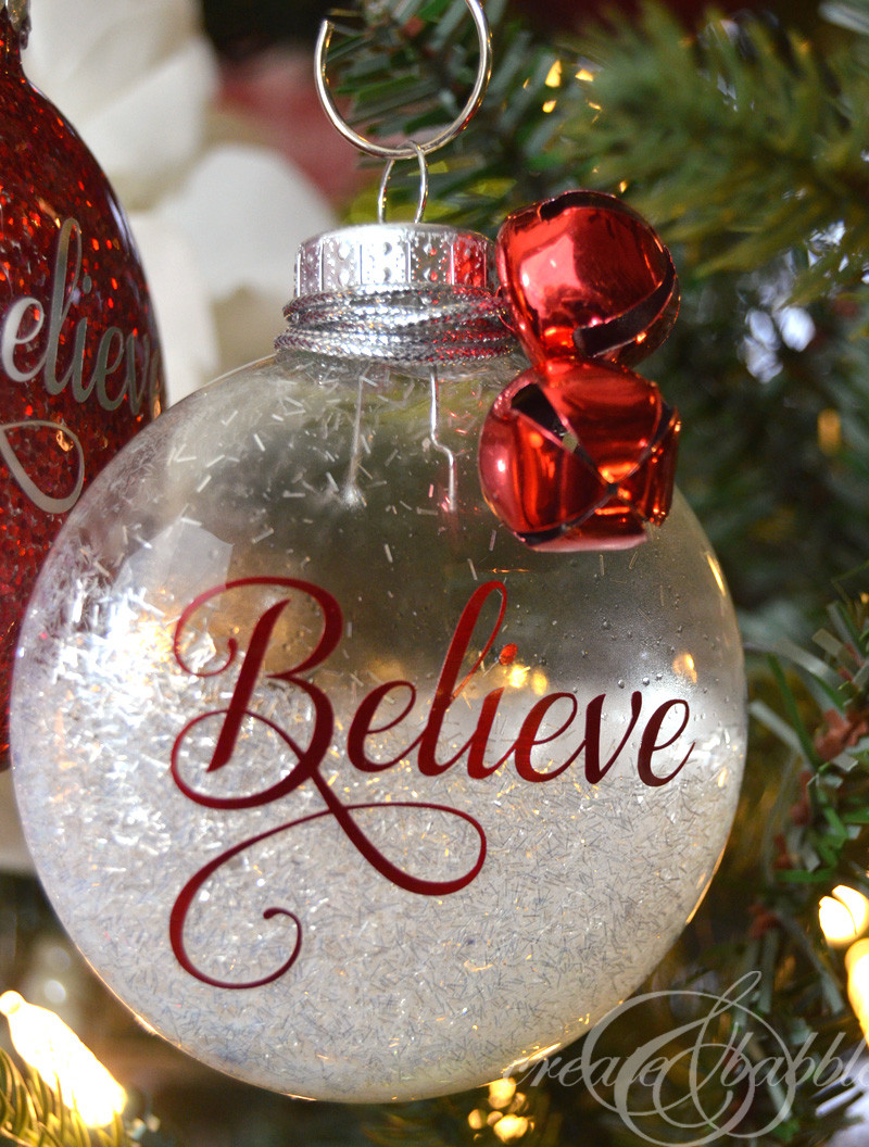 Best ideas about DIY Clear Christmas Ornaments . Save or Pin DIY Glitter Christmas Ornaments Create and Babble Now.