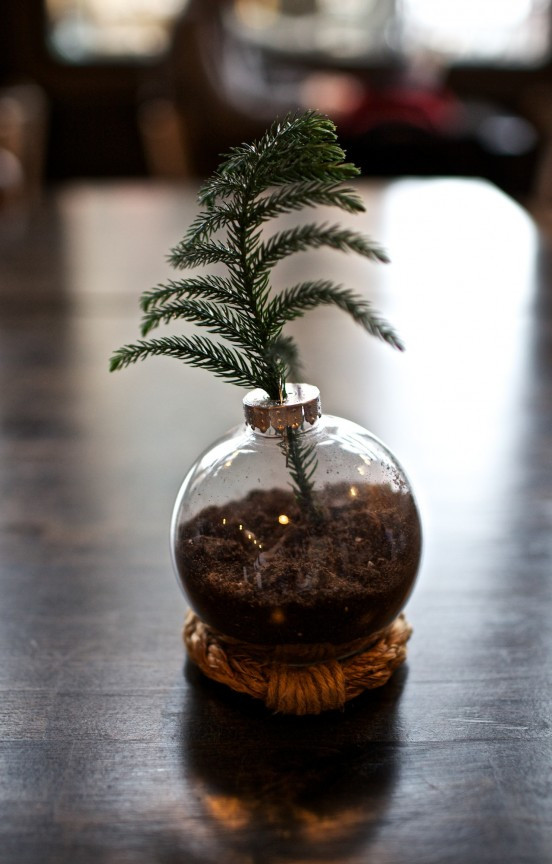 Best ideas about DIY Clear Christmas Ornaments . Save or Pin DIY Christmas Ornament Vase Now.