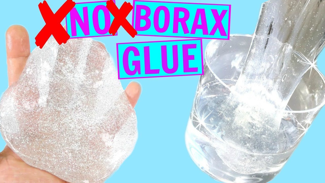 Best ideas about DIY Clear Slime . Save or Pin DIY 2 WAYS TO MAKE CLEAR SLIME WITHOUT BORAX OR GLUE How Now.