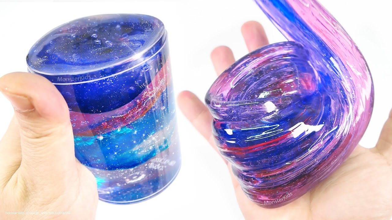 Best ideas about DIY Clear Slime . Save or Pin DIY Clear Galaxy Slime 2 Make Space Glitter Slime Now.