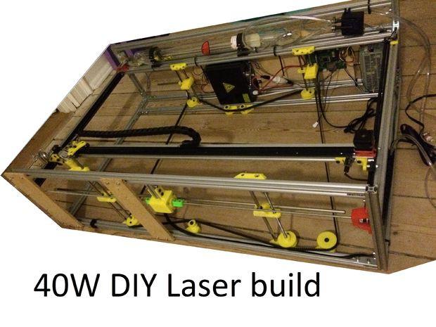 Best ideas about DIY Cnc Laser Cutter . Save or Pin DIY 40W CNC Laser Cutter From Bad to Better With 3D Now.