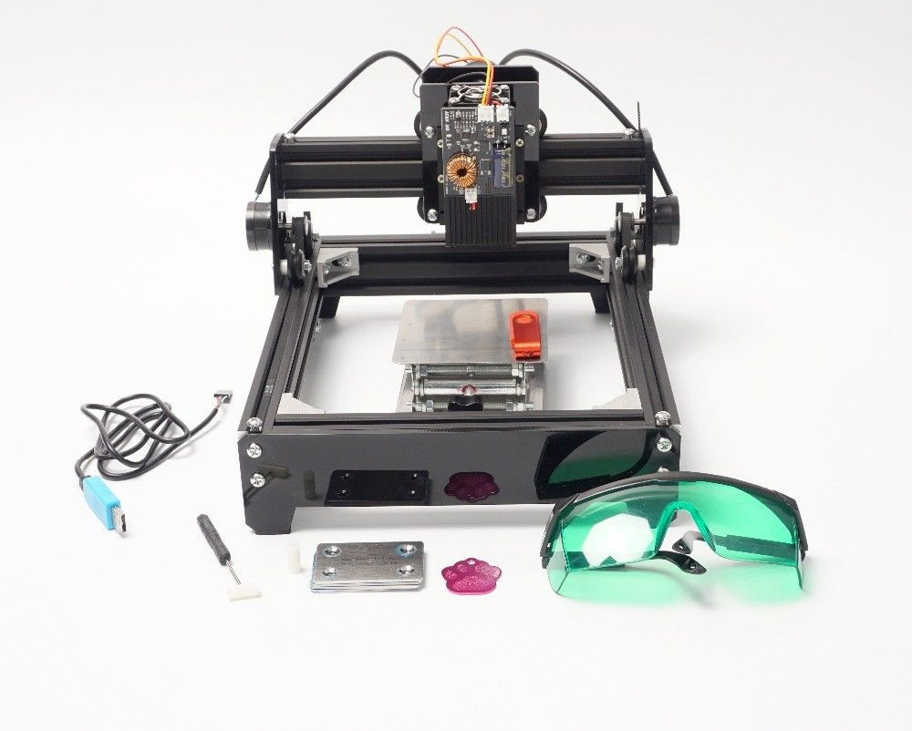 Best ideas about DIY Cnc Laser Cutter . Save or Pin 15W USB Laser Engraver Cutter Wood Cutting CNC Engraving Now.