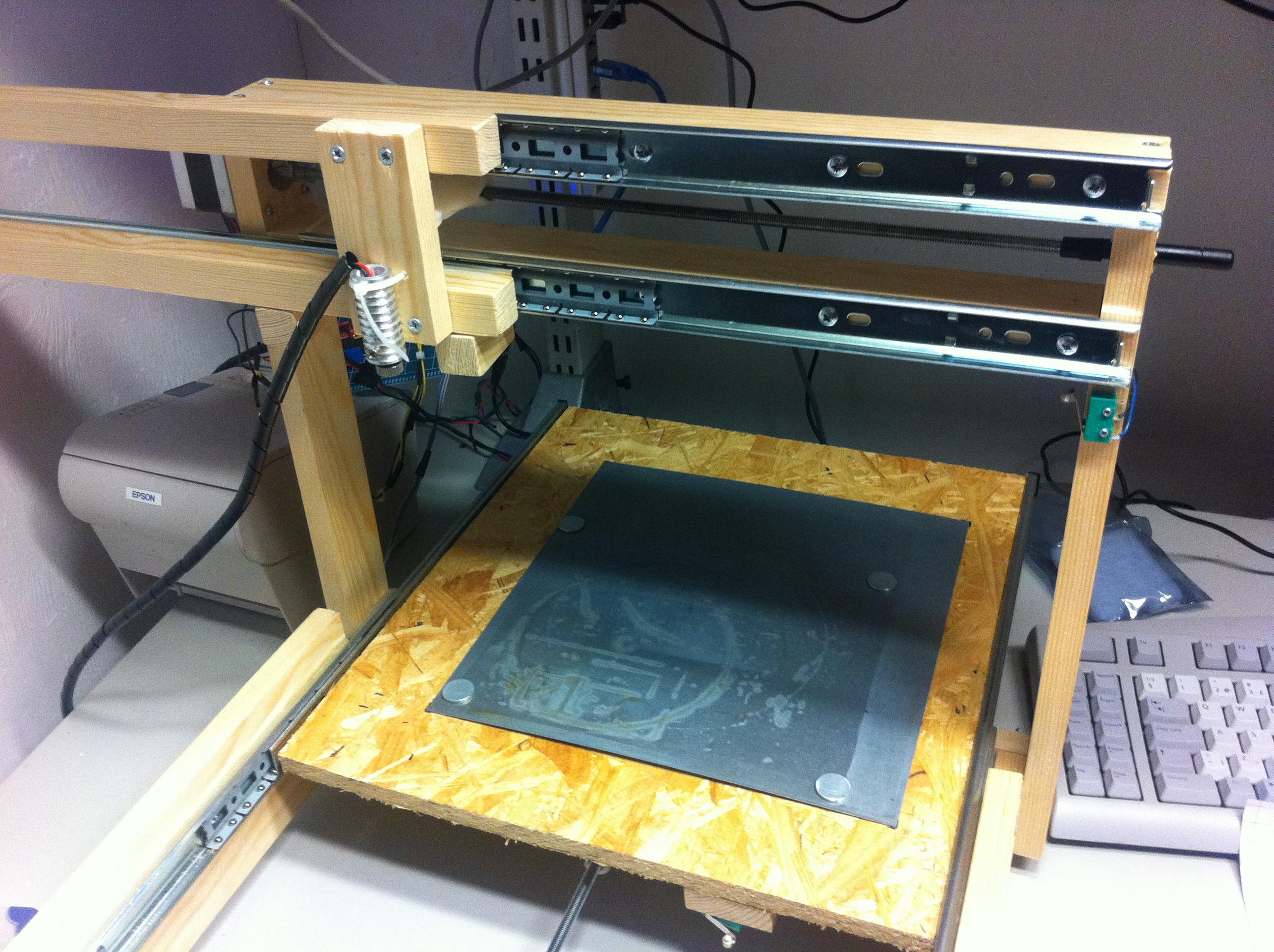 Best ideas about DIY Cnc Laser Cutter . Save or Pin What can you cut with a 300mW DIY laser cutter Now.