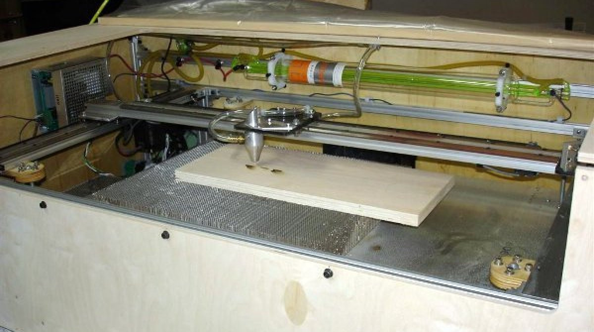 Best ideas about DIY Cnc Laser Cutter . Save or Pin DIY 40W laser cutter Now.
