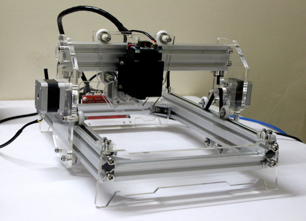 Best ideas about DIY Cnc Laser Cutter . Save or Pin DIY 5500mW Laser Engraver Cutter 11 Steps with Now.