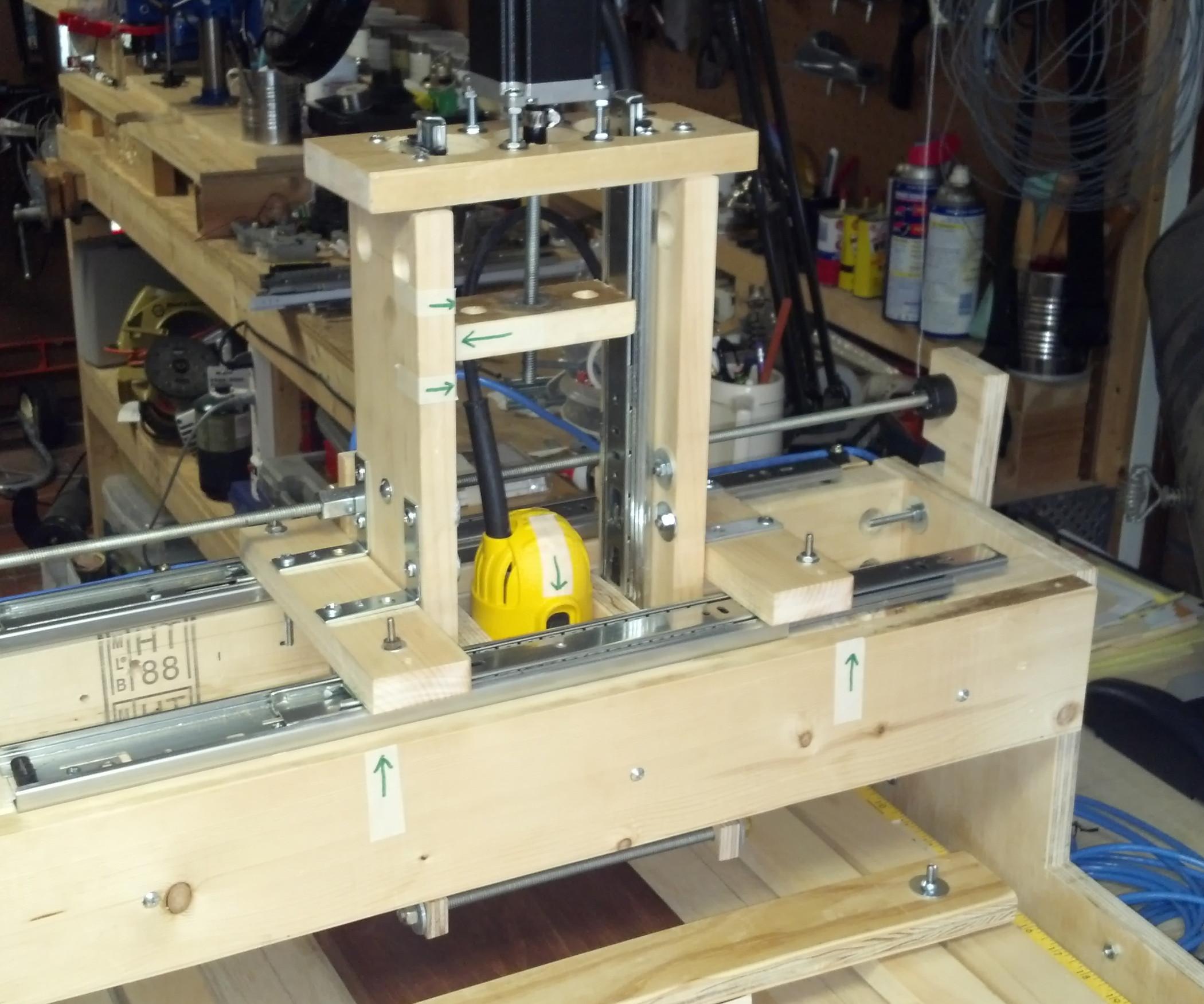 Best ideas about DIY Cnc Machine . Save or Pin DIY Drawerslide CNC Machine Gantry Re design Now.