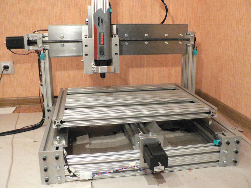 Best ideas about DIY Cnc Machine . Save or Pin DIY homemade CNC machine router mill set of plans Now.