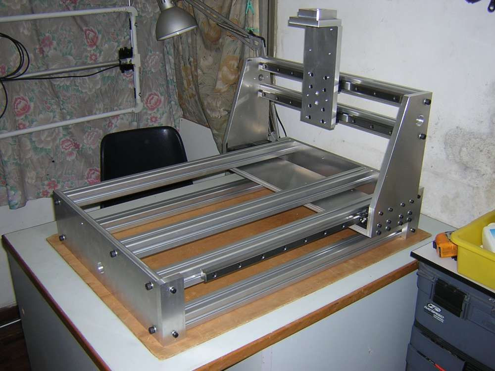 Best ideas about DIY Cnc Machine . Save or Pin Metal CnC Frame DIY Machine Design More Now.