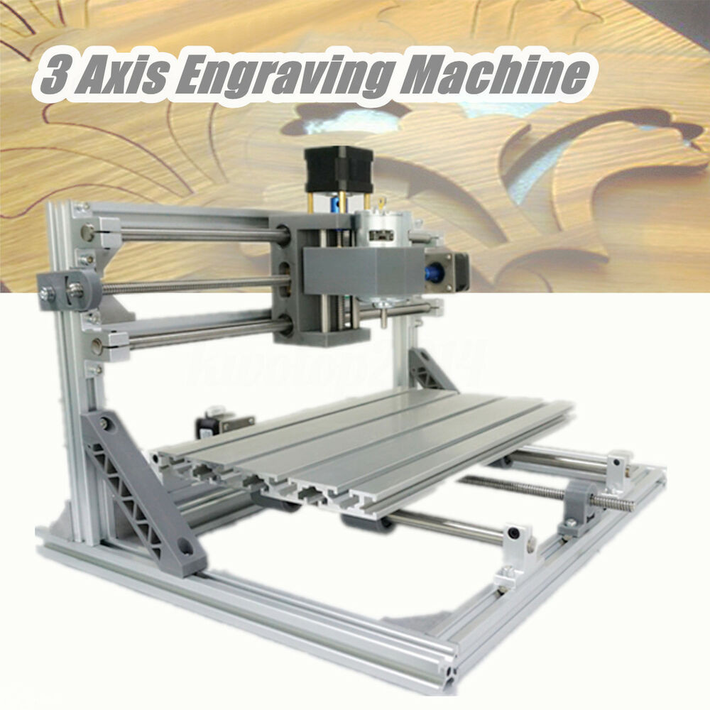 Best ideas about DIY Cnc Mill . Save or Pin 3 Axis DIY CNC 3018 Wood Engraving Carving PCB Milling Now.