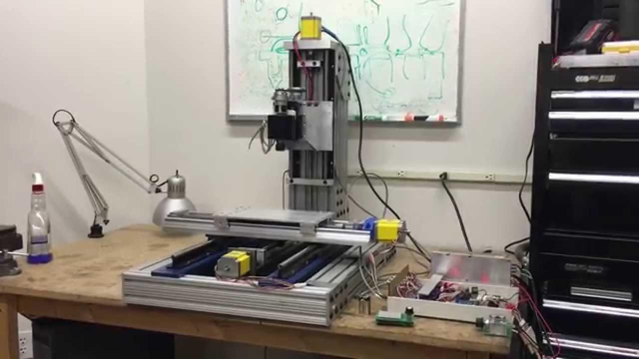 Best ideas about DIY Cnc Mill . Save or Pin DIY CNC Mill Build Description Now.