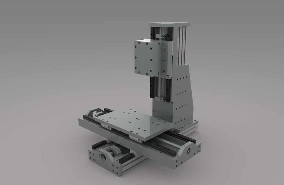 Best ideas about DIY Cnc Mill . Save or Pin DIY cnc mill 3D CAD Model Library Now.