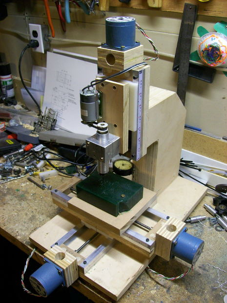 Best ideas about DIY Cnc Mill . Save or Pin How to Make a Mini Milling Machine Manual or CNC 14 Now.