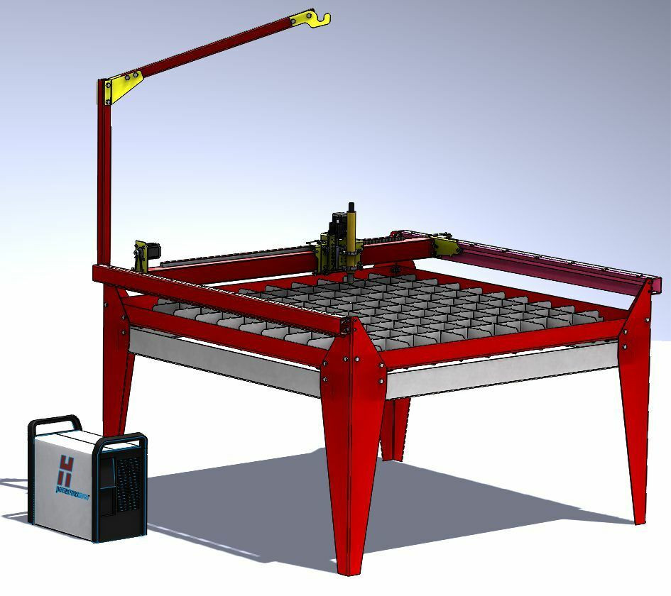 Best ideas about DIY Cnc Plasma Cutter . Save or Pin Plans for Diy CNC plasma table 1250 x 1250 mm with water Now.