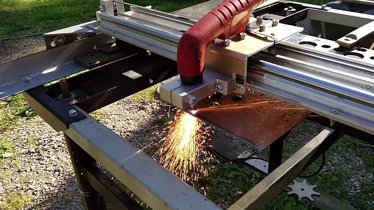 Best ideas about DIY Cnc Plasma Cutter . Save or Pin DIY scrapmetal CNC Plasma cutter 2nd test run Now.