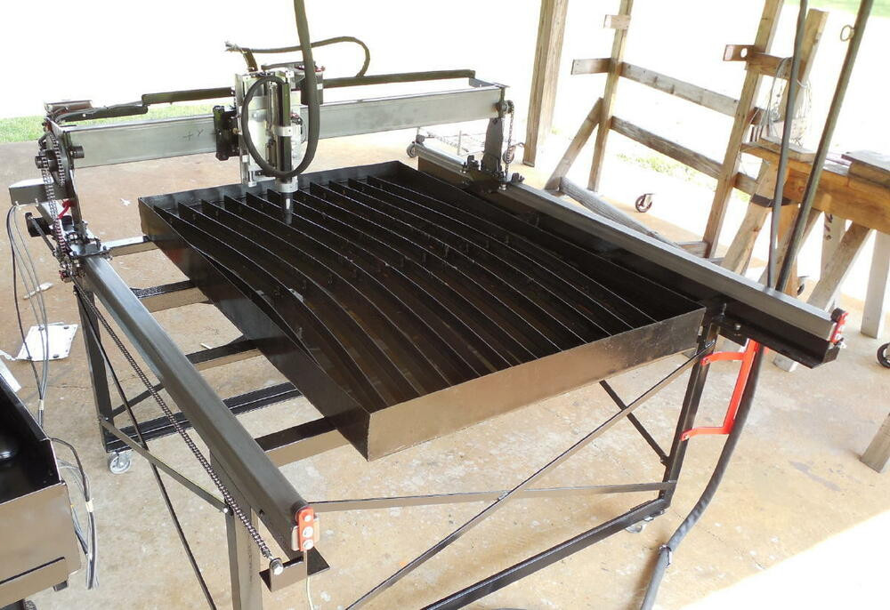 Best ideas about DIY Cnc Plasma Cutter . Save or Pin DIY Plasma CNC Table Plans Shop tools plate marker Now.