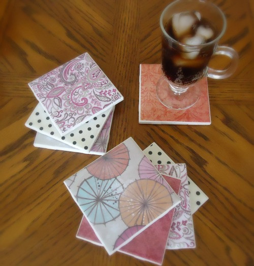 Best ideas about DIY Coaster Tiles . Save or Pin DIY Tile Coasters A Great Way To Use Homemade Mod Podge Now.