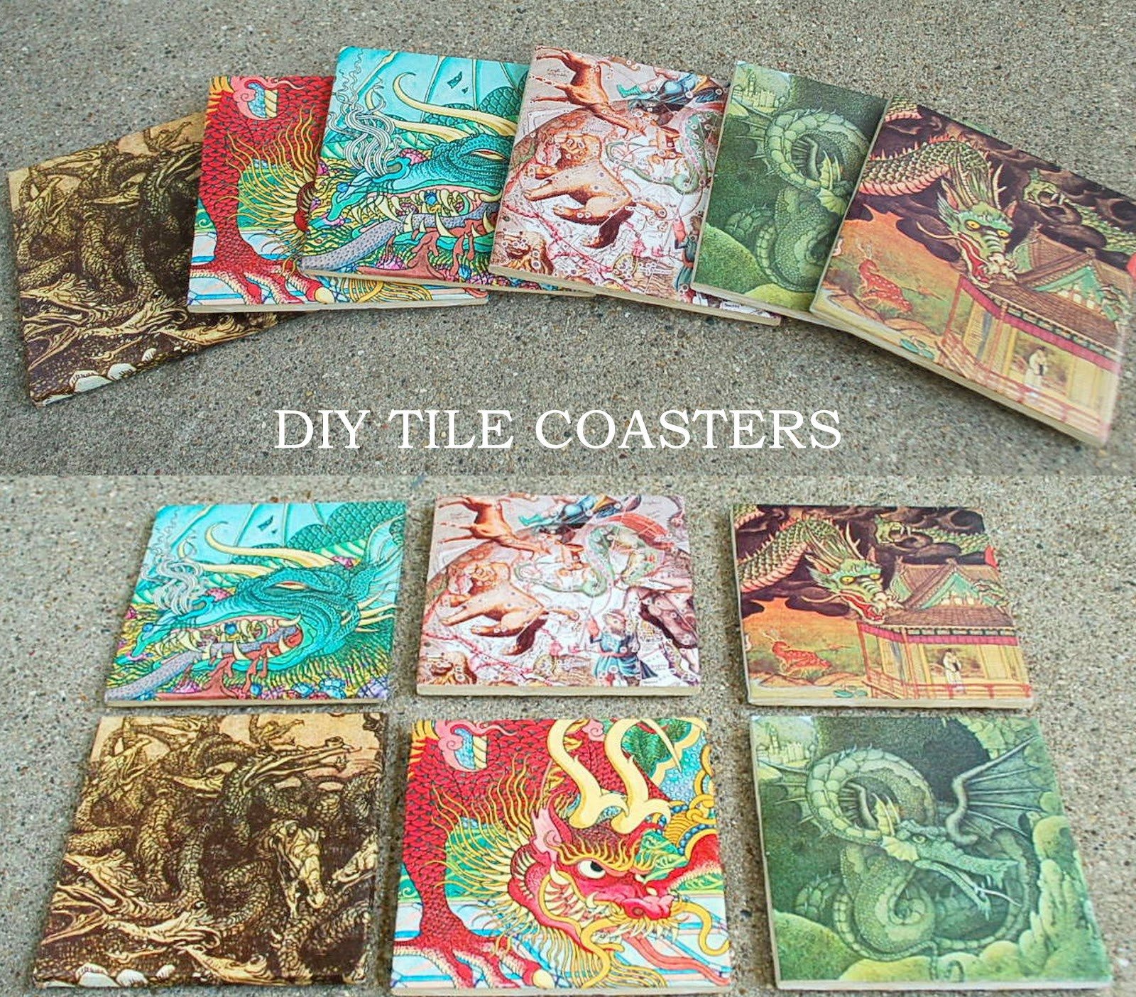 Best ideas about DIY Coaster Tiles . Save or Pin SOVRIN BLOG DIY TILE COASTERS Now.