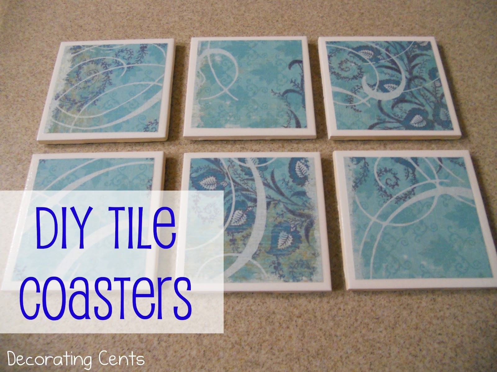 Best ideas about DIY Coaster Tiles . Save or Pin DIY Tile Coasters Now.