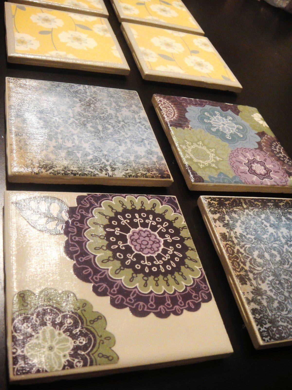 Best ideas about DIY Coaster Tiles . Save or Pin Tristinand pany The Ramseys Finally Have Coasters Now.