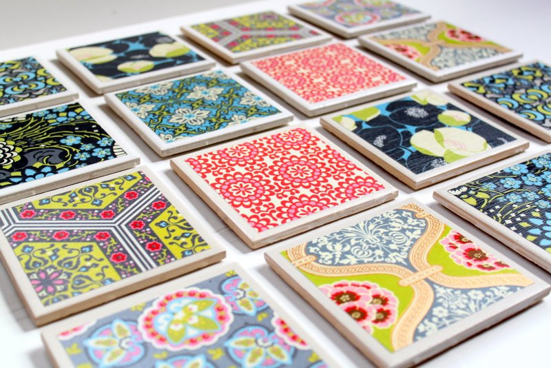 Best ideas about DIY Coaster Tiles . Save or Pin Tile Coaster Tutorial The Cottage Mama Now.