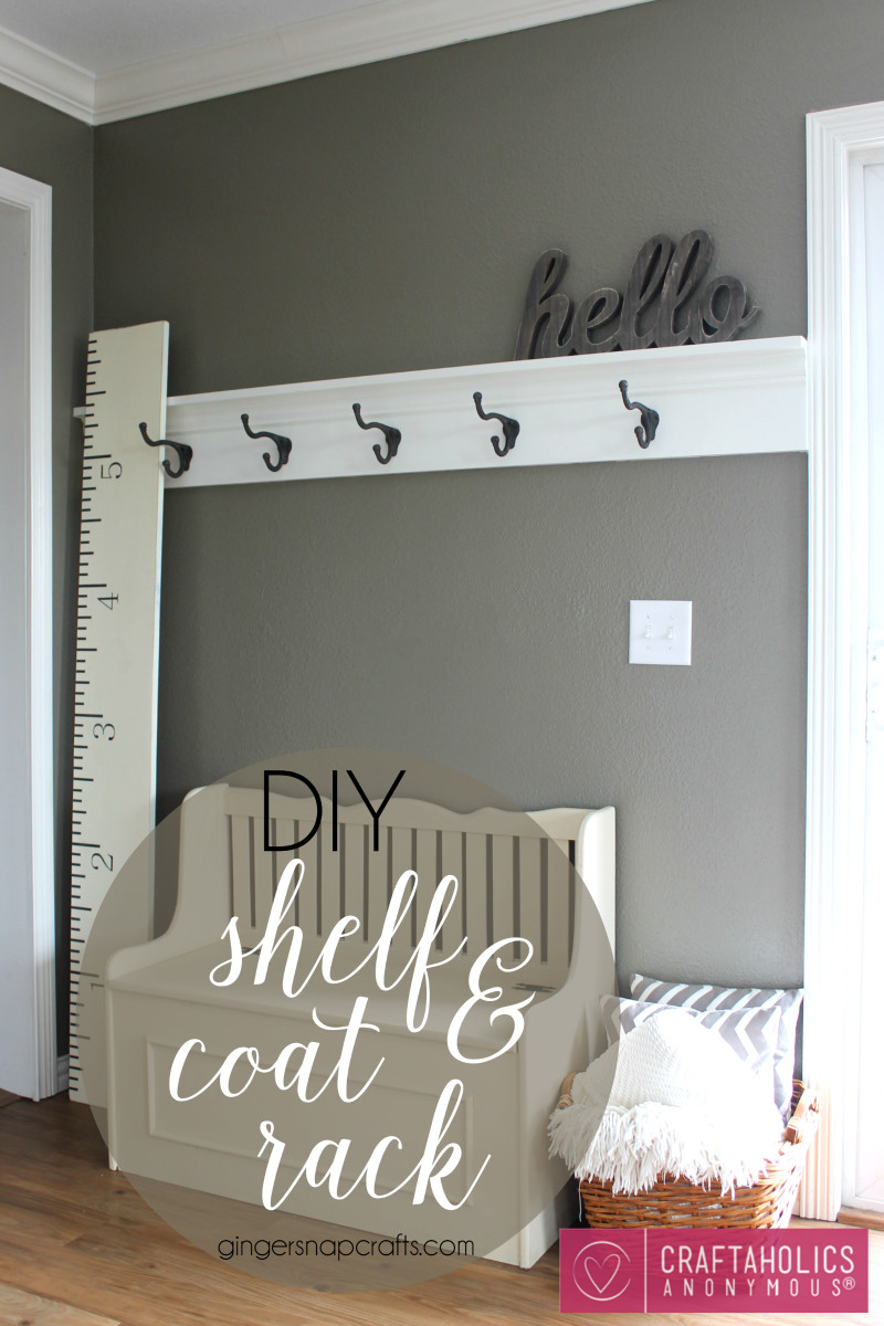 Best ideas about DIY Coat Racks . Save or Pin Craftaholics Anonymous Now.