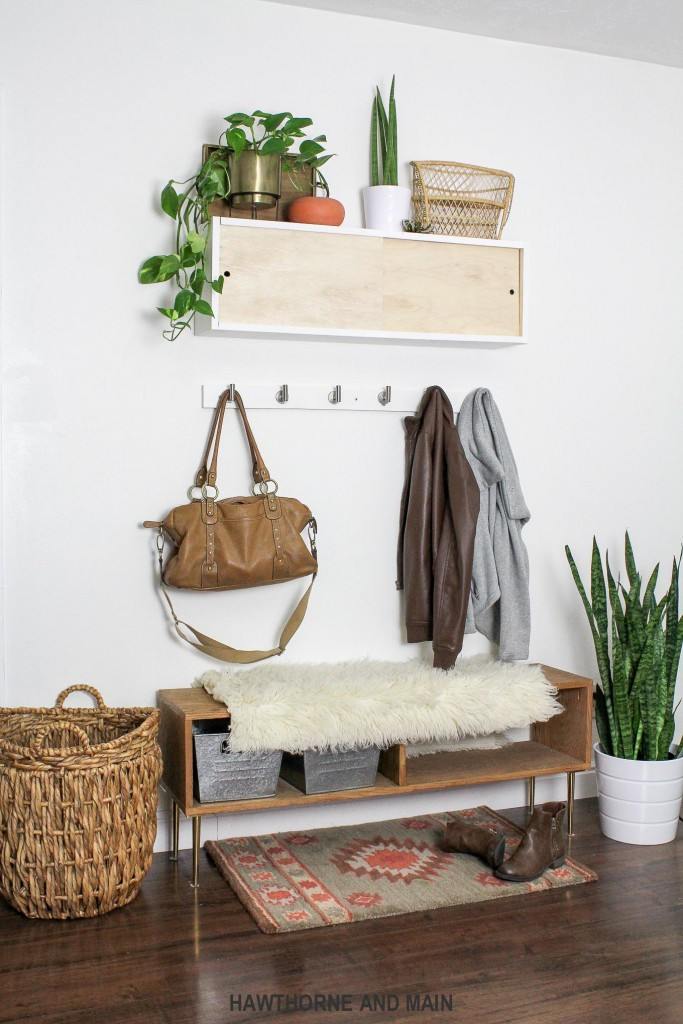 Best ideas about DIY Coat Racks . Save or Pin Simple DIY Coat Rack – HAWTHORNE AND MAIN Now.