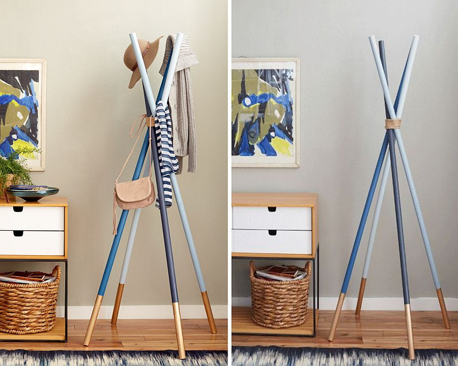 Best ideas about DIY Coat Racks . Save or Pin 15 DIY Coat Rack Ideas that are Easy and Fun Now.