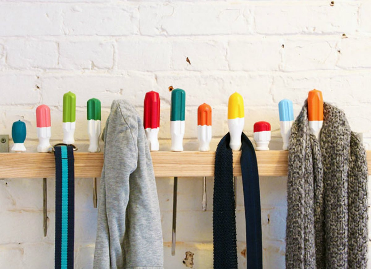 Best ideas about DIY Coat Racks . Save or Pin DIY Storage 18 Clever Solutions You Can Make for Free Now.