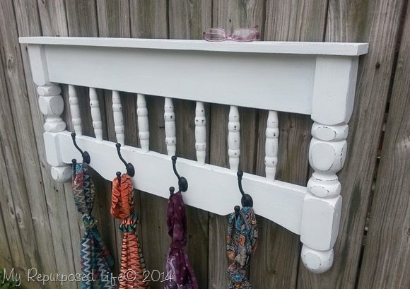 Best ideas about DIY Coat Racks . Save or Pin DIY Coat Rack Repurposed Bunk Bed My Repurposed Life Now.