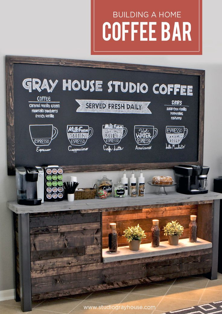 Best ideas about DIY Coffee Bars . Save or Pin 40 Ideas To Create The Best Coffee Station Decoholic Now.