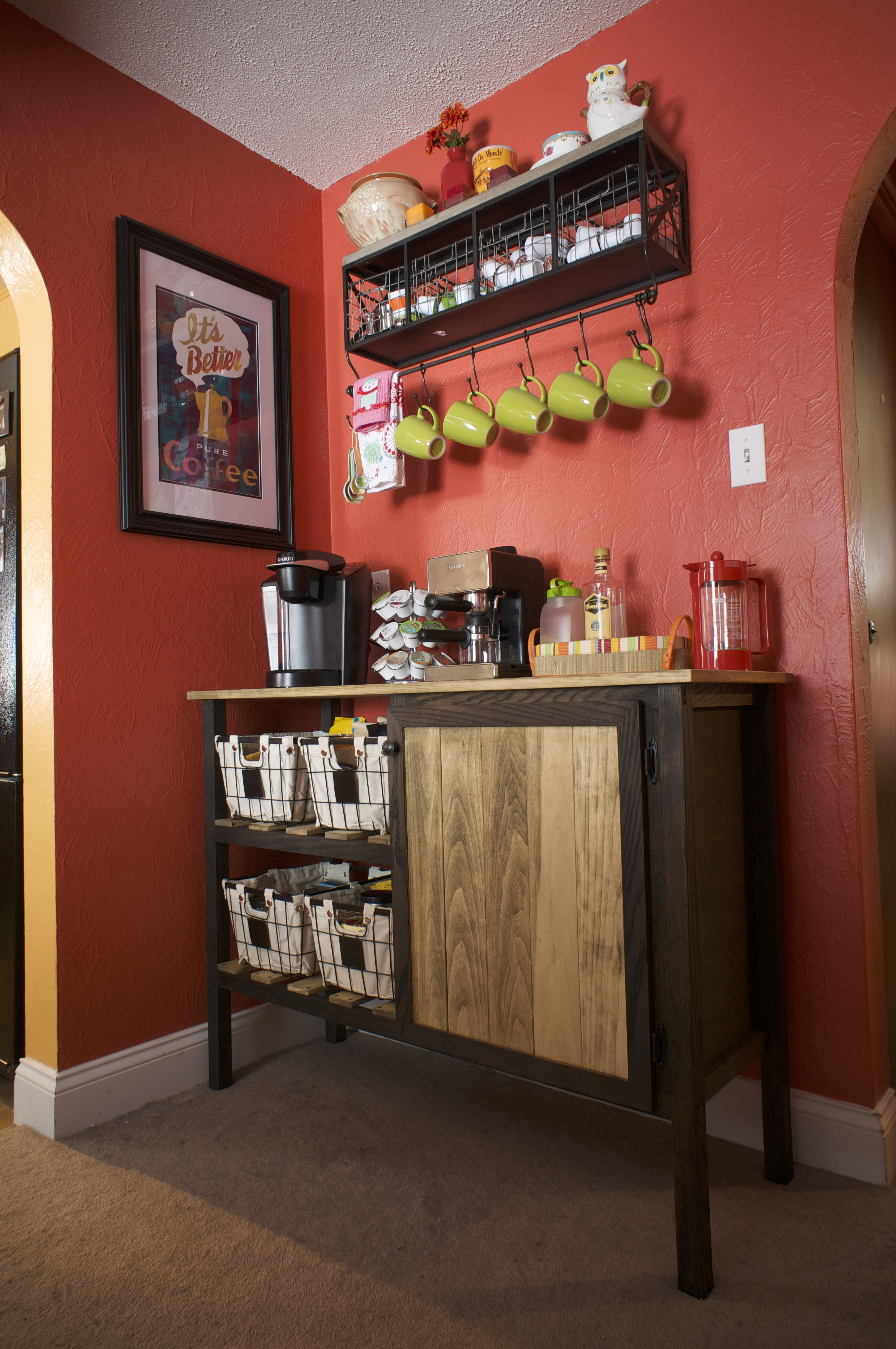 Best ideas about DIY Coffee Bars . Save or Pin DIY Coffee Bar Mr and Mrs Merrill Now.