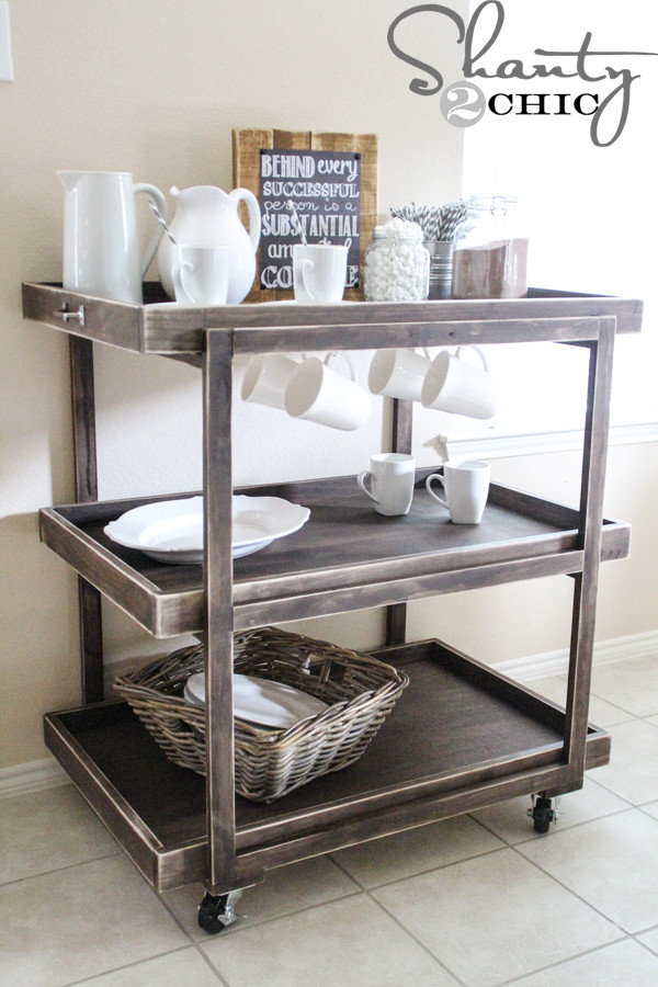 Best ideas about DIY Coffee Bars . Save or Pin DIY Bar Cart Shanty 2 Chic Now.