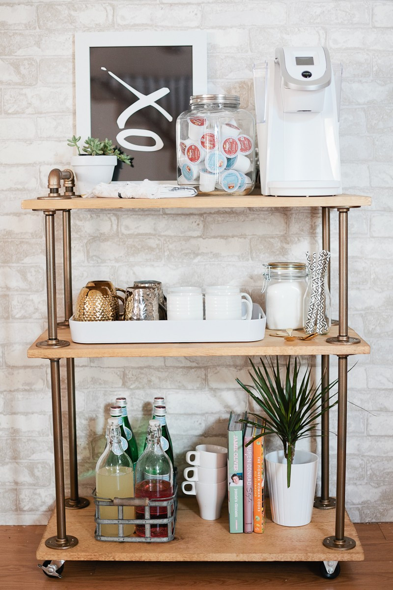 Best ideas about DIY Coffee Bars . Save or Pin DIY Coffee Bar Cart Now.