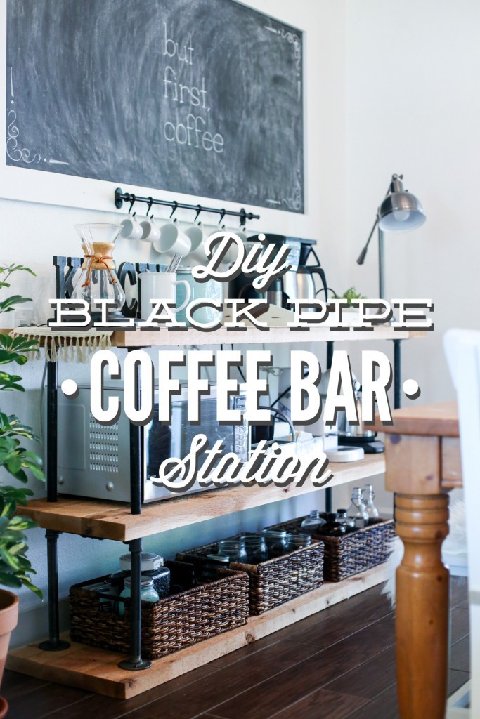 Best ideas about DIY Coffee Bars . Save or Pin DIY Black Pipe Coffee Bar Station Live Simply Now.
