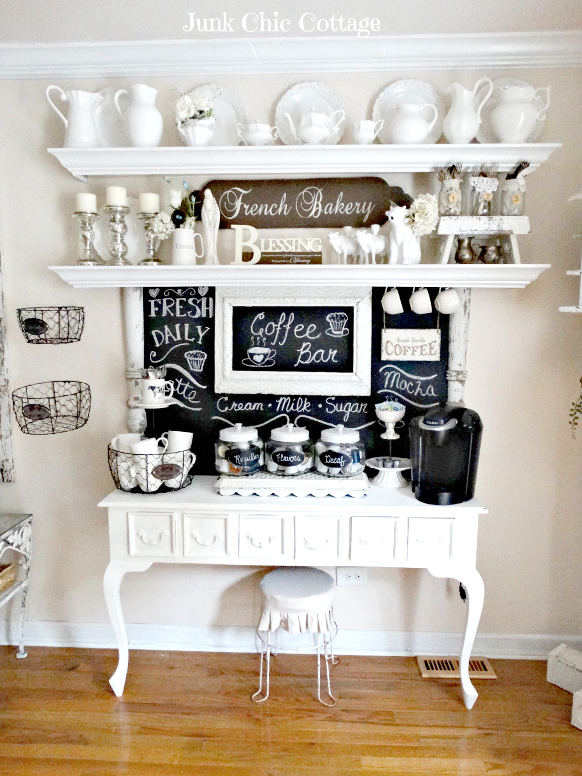 Best ideas about DIY Coffee Bars . Save or Pin 30 Charming DIY Coffee Station Ideas for All Coffee Lovers Now.
